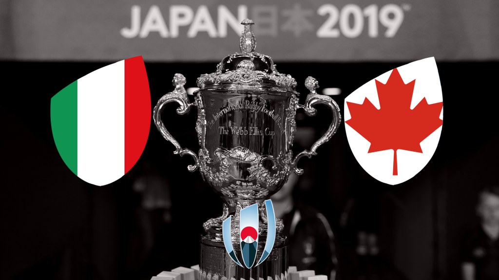 PREVIEW: Italy v Canada