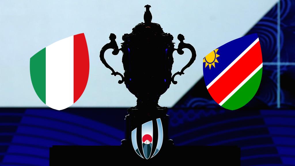 RECAP: Italy v Namibia