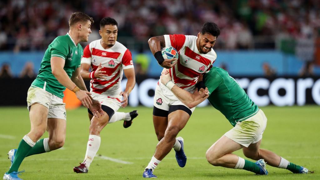 Japan stun Ireland