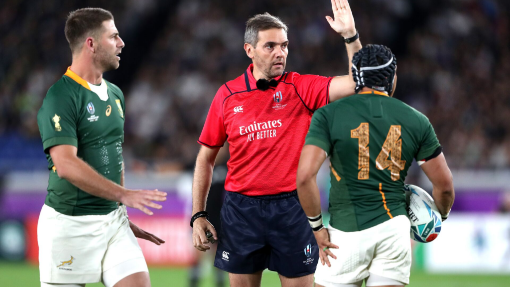 World Rugby admits they have refereeing problems