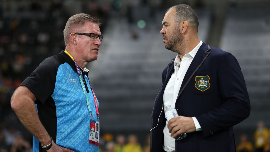 Fiji coach lashes out at Cheika in war of words