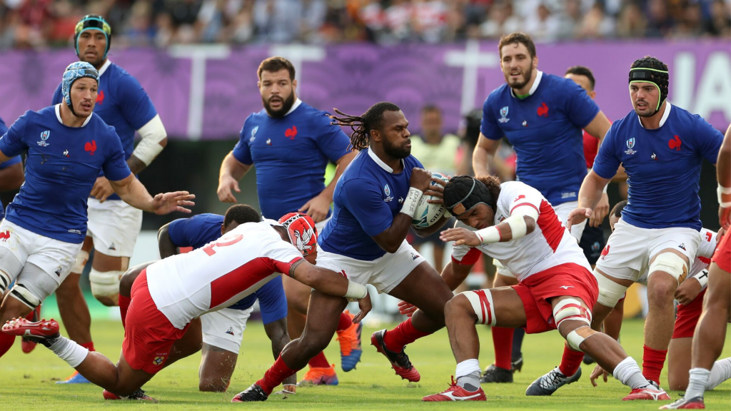 France into quarters after nail-biting win over Tonga