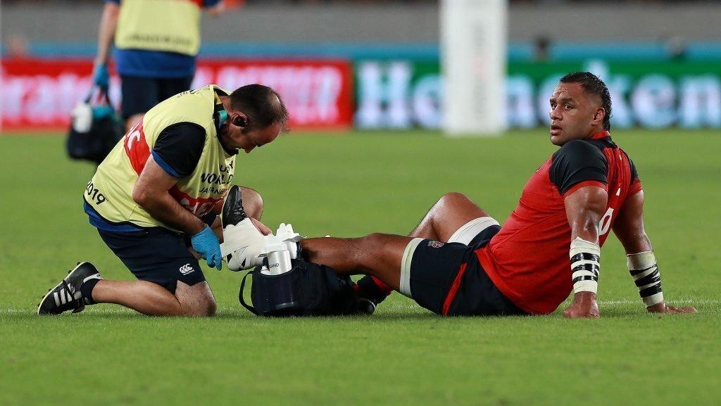 England sweating over Vunipola