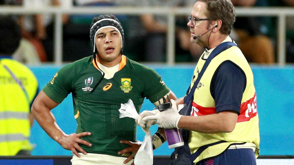 Rassie gives update on injured Kolbe