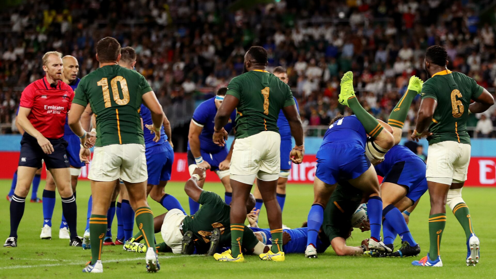 Italy duo in hot water red-card tackle on Vermeulen