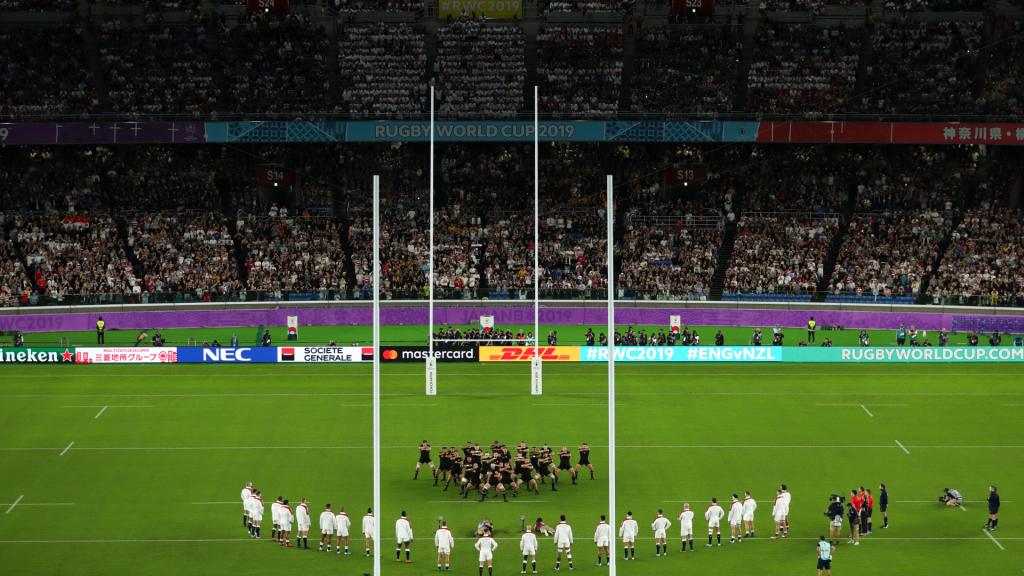 WATCH: England's 'V' response to intense New Zealand haka