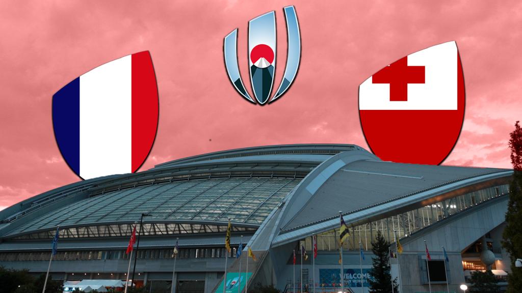 RECAP: France v Tonga
