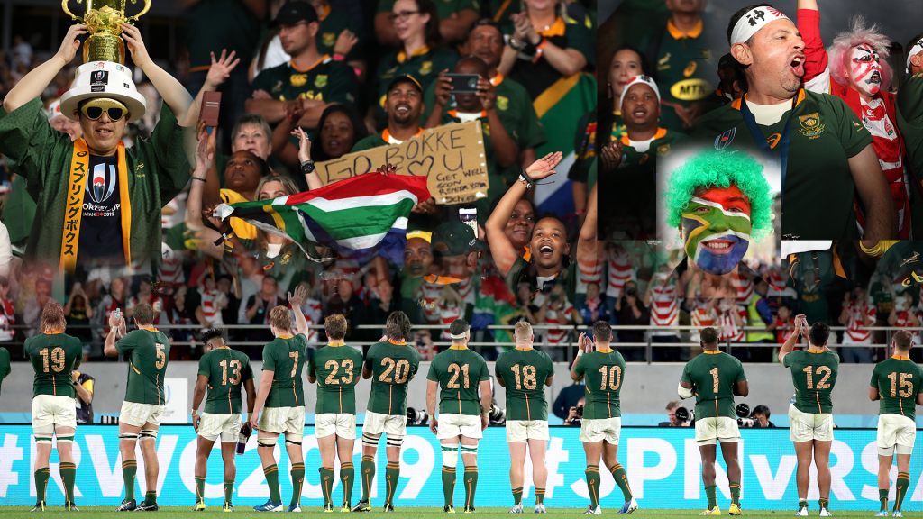 VIDEOS: Boks unite the nation ... again
