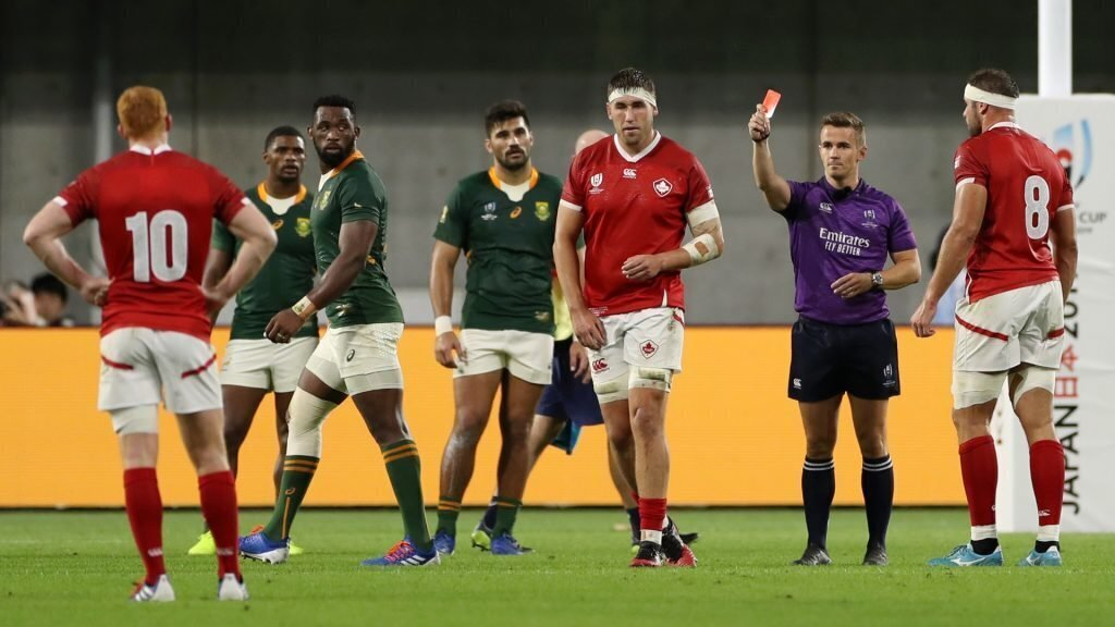 VIDEO: Canada lock's big gesture to Springboks
