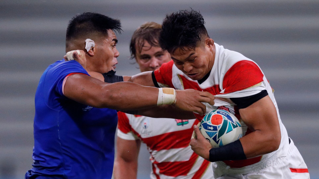 Japan's late show floors Samoa