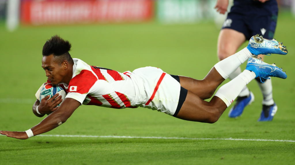 Japan's sensational tries from different angles