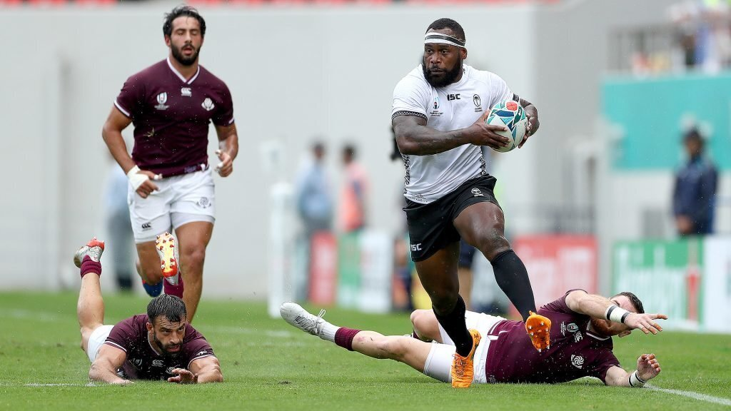 Fiji's second-half blitz too much for Georgia