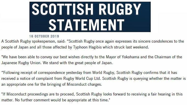 Scotland statement