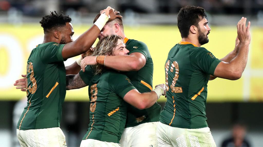 WORLD RANKINGS: Springboks on the rise