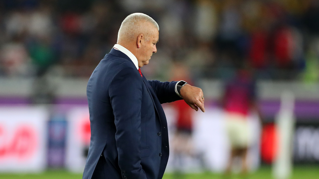 Gatland copping flak for failing to adapt