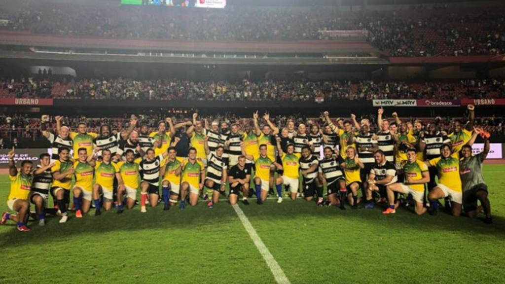 Barbarians too good for plucky Brazil