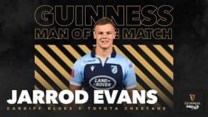 Jarrod Evans Cardiff