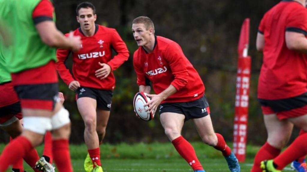Wales' Kiwi-born wing starts against BaaBaas