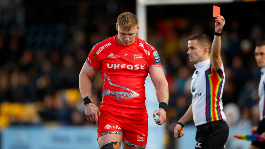 Sale Sharks boss questions Du Preez's red card