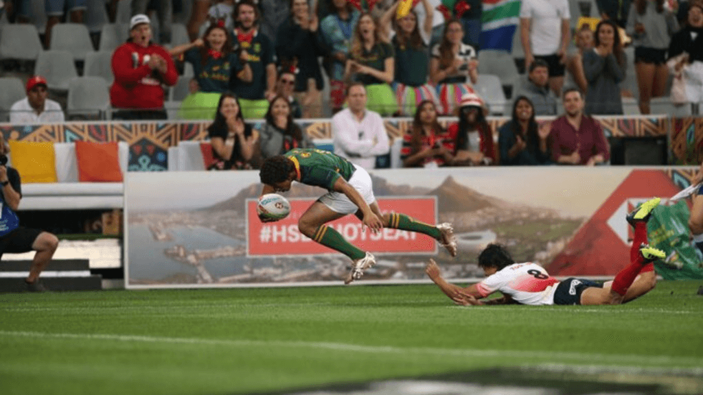 Cape Town Sevens: BlitzBoks blow Japan away