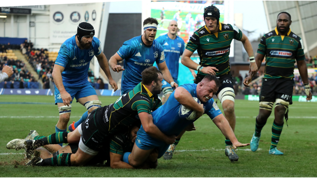 Leinster smash Saints in Champions Cup