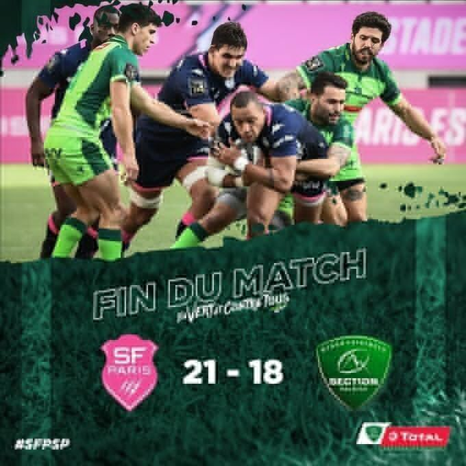 Stade versus Pau