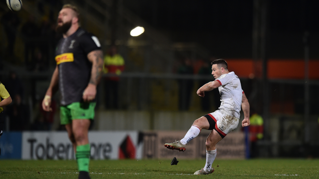 Ulster edge Harlequins with last-gasp Cooney kick