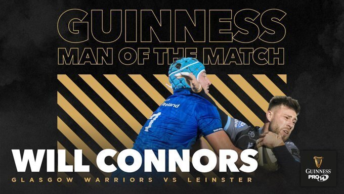 Will Connors Leinster