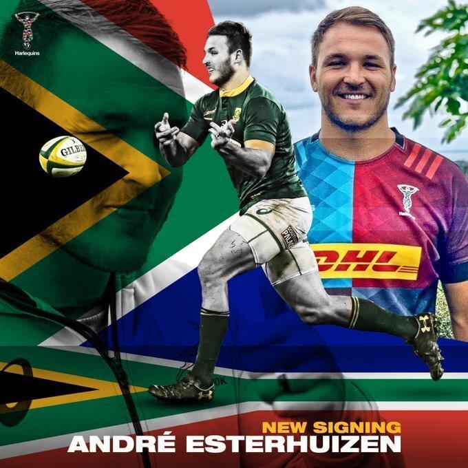 Andre Esterhuizen Quins