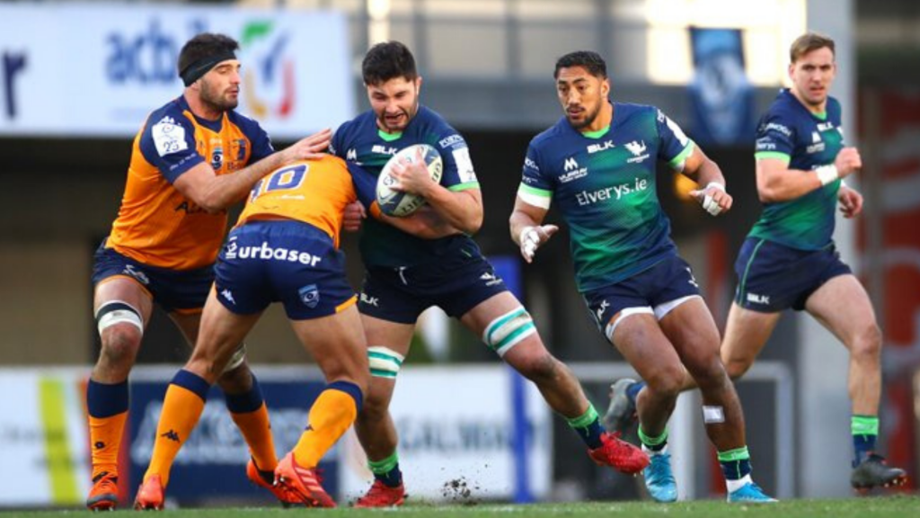 Montpellier hang on to beat Connacht