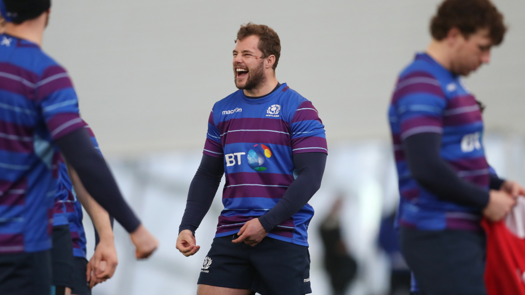 Scotland prop's warning to jabbering Jones