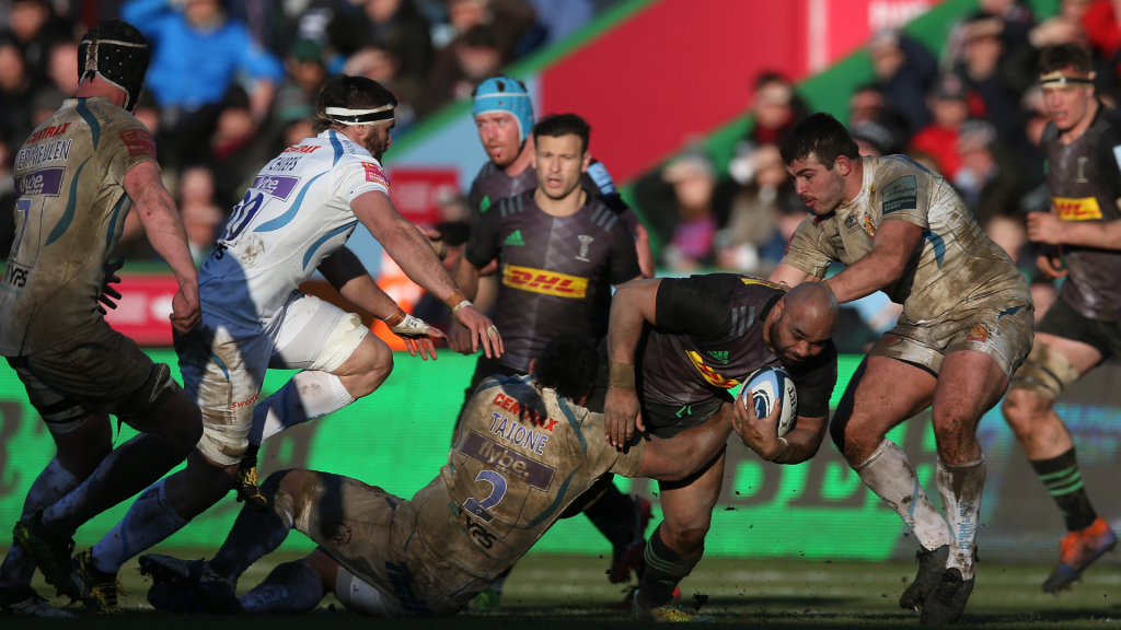 Quins stun table-toppers Chiefs