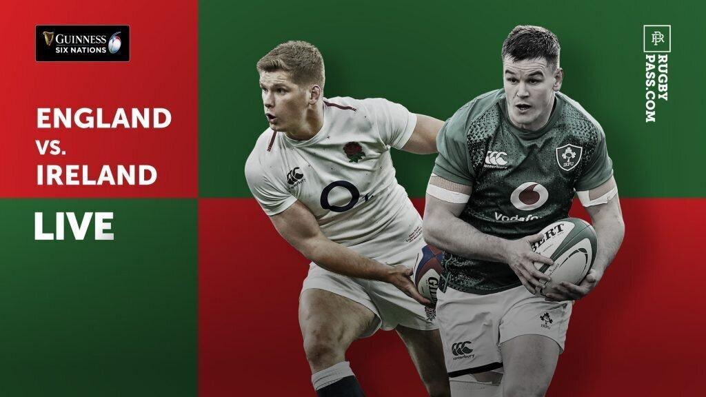 RECAP: England v Ireland