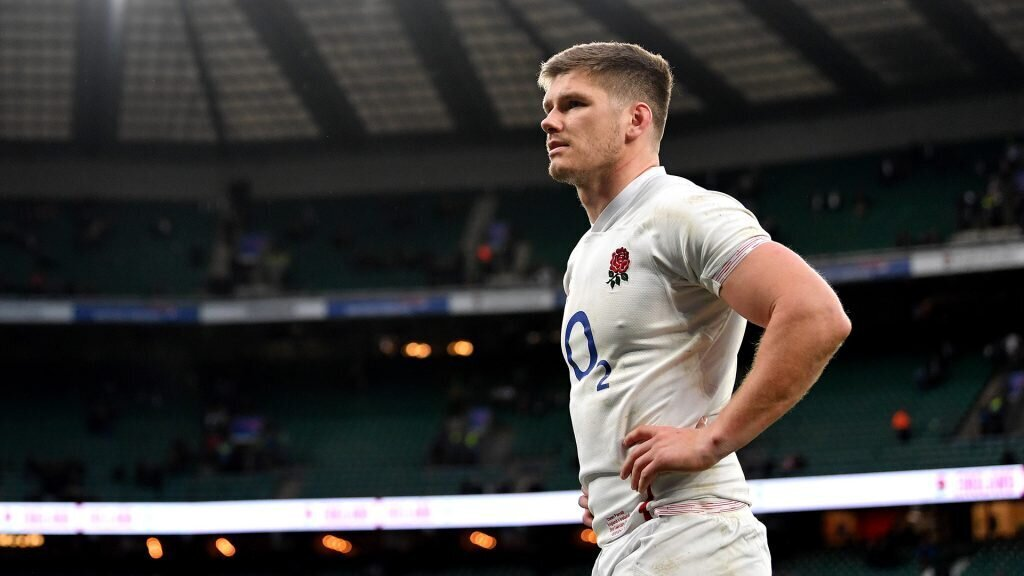 Farrell takes centre stage against Wales