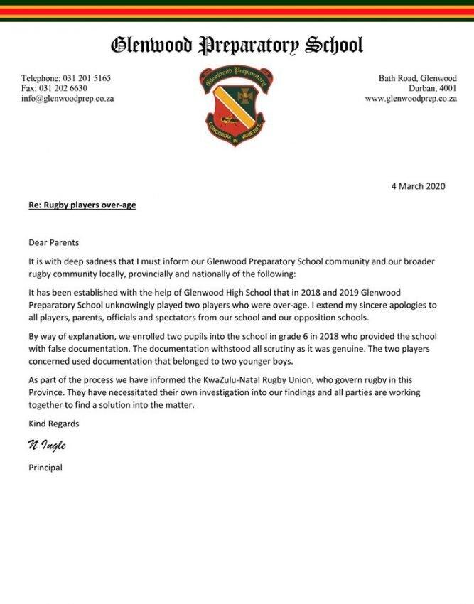 Overage saga rocks SA schools