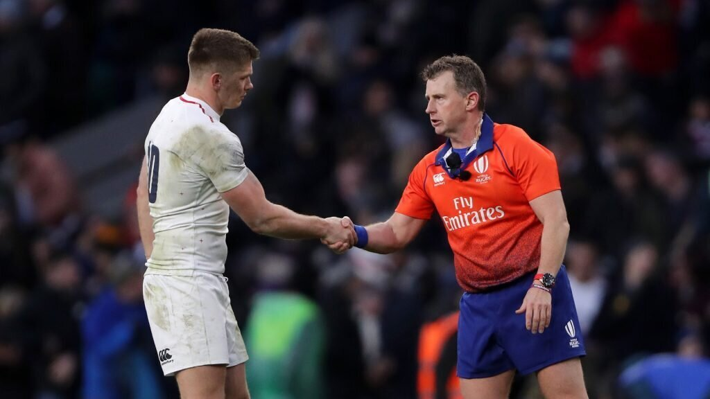 How referee gave Owen Farrell 'tackle lessons'