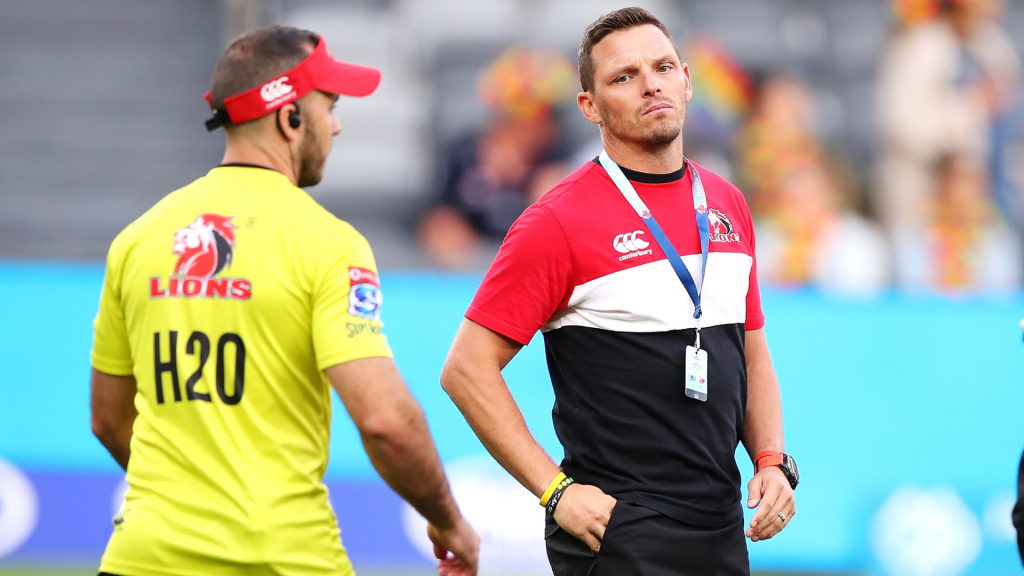 Van Rooyen is a frustrated Lions coach