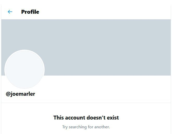 Joe Marler twitter closed
