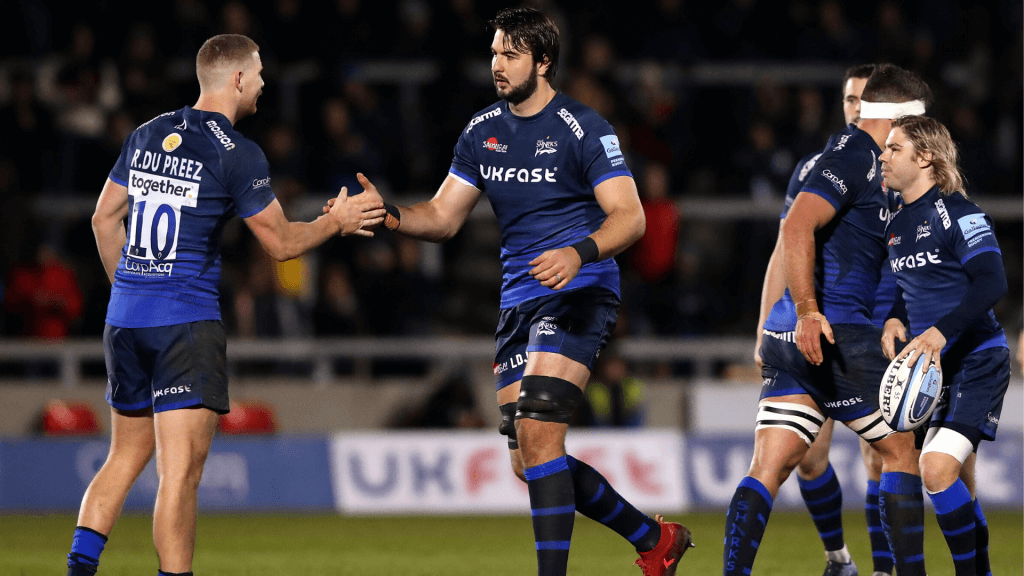 Bok scores as Sale Sharks solidify top-four place