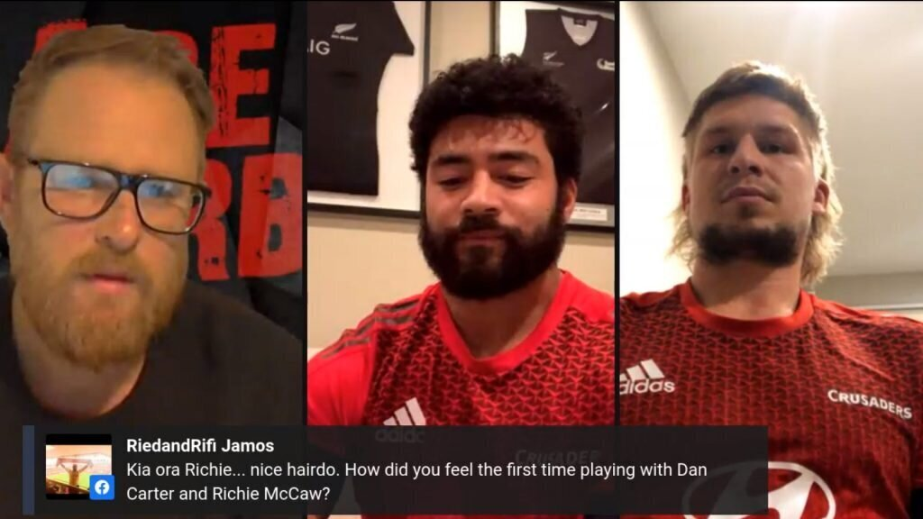Crusaders talk 'beards and religion'