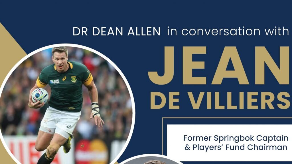 In conversation with Jean de Villiers: Don't miss out!