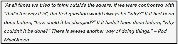 Rod MacQueen quote