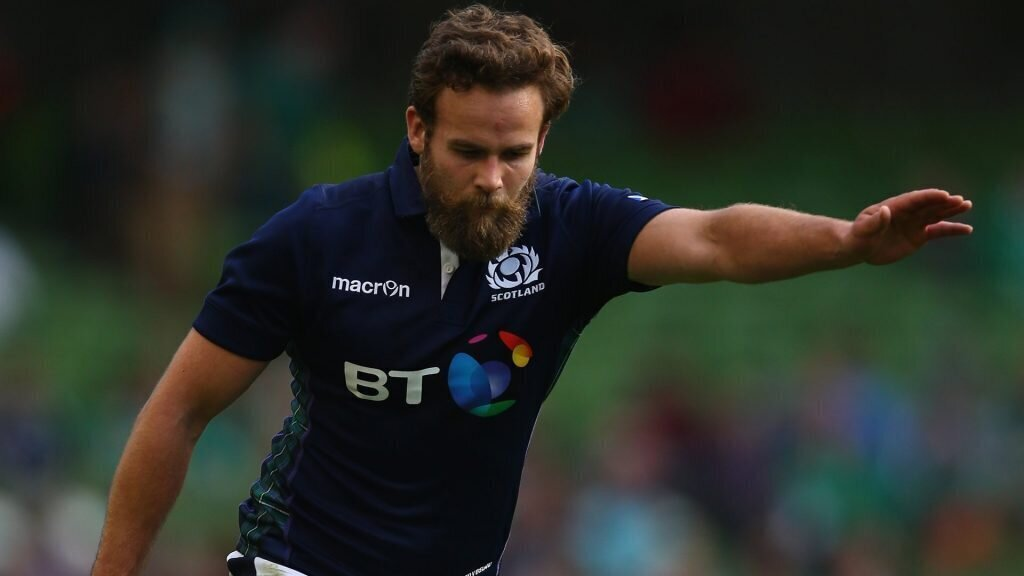 Scotland international swaps rugby for drinks