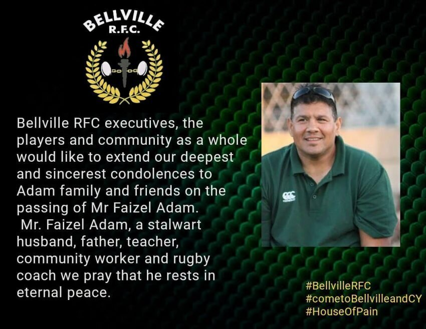 Belville RFC statement