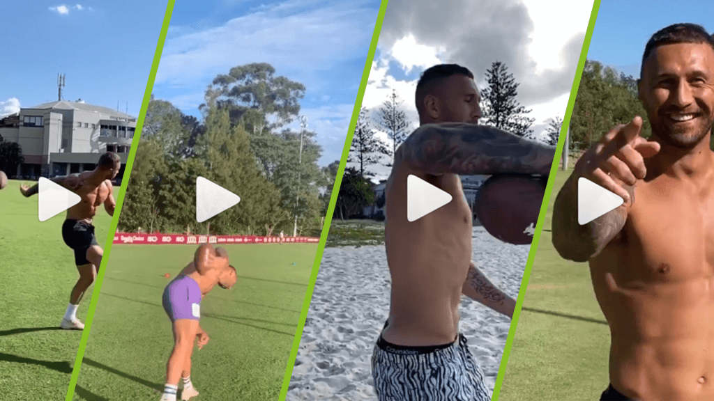 Watch why Quade Cooper is the viral video king