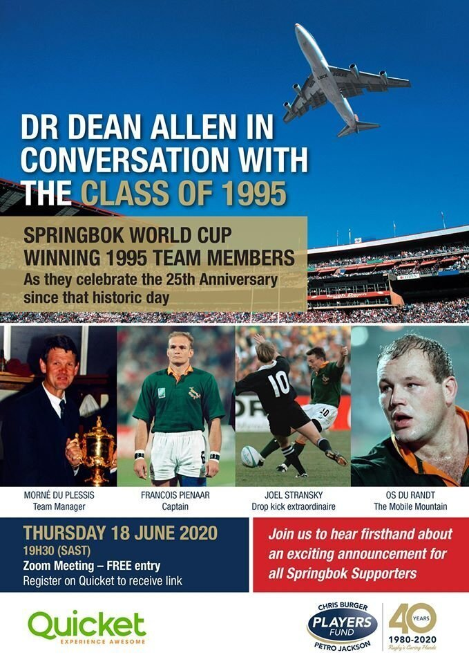 Dean Allen in conversation with Class of 96