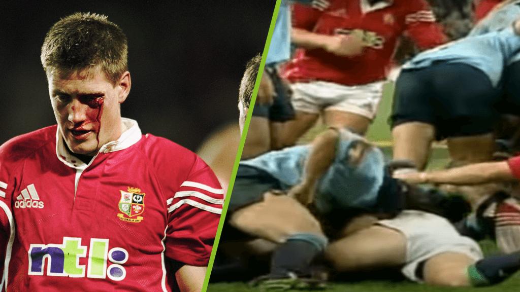Duncan McRae absolutely tears into Ronan O'Gara