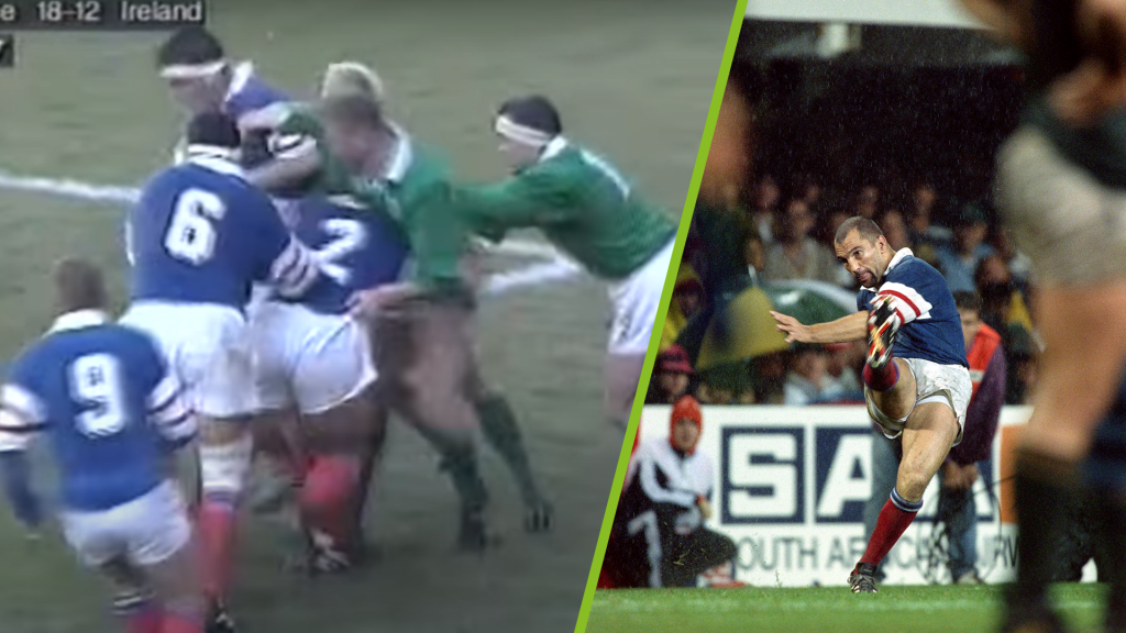 The day France almost displayed champagne rugby