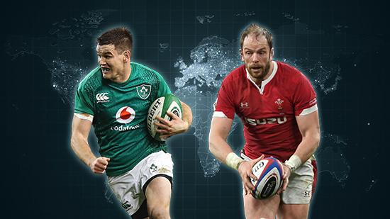 Pick your captain - Irish pivot or Welsh Dragon?