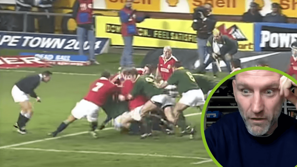 Lawrence Dellaglio dubs the 1997 Lions' tour 'the best experience of my life'